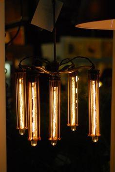filament chandelier