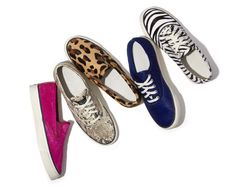 We're giving away FIVE pairs of summer's chicest sneakers. Enter NOW! http://shop.harpersbazaar.com/giveaway