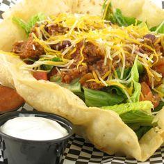 taco bowl, taco salad, taco bell, tacos, food