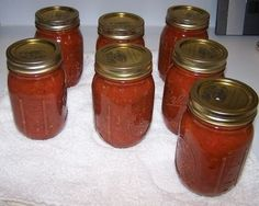 How to Make Homemade Tomato Sauce - Easily! With Step-by-step Directions, Photos, Ingredients, Recipe and Costs