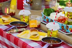 Summer BBQ Party Ideas | ... BBQ party ideas, hints and photos to make a burger bar at your BBQ