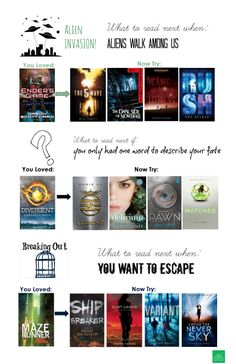 What to read next when you've finished your favorite dystopian novels!