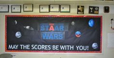 reading bulletin board ideas | Star Wars Bulletin Board Idea For Accelerated Reading ...
