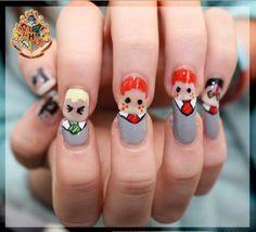 harry potter nails | Tumblr