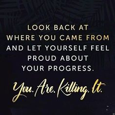 Thursday Thoughts! Be proud of your progress! Let it be your motivation to keep going! ???