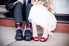 Shoes verses Socks
