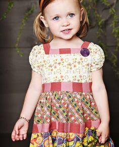 tier dress, mimi dress, little girl dresses, kid