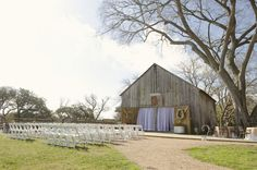 Texas Barn Wedding