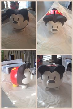 Mickey Mouse...from a piggy bank!