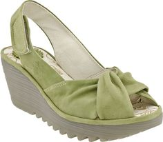 Fly London Yakin in Pistachio from PlanetShoes.com