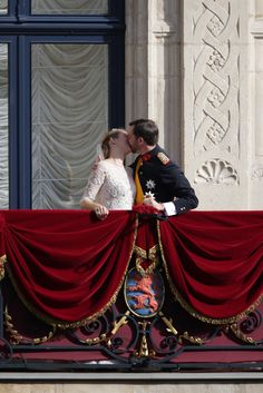 Prince Guillaume of Luxembourg & Princess Stephanie    © Cour Grand Ducale / Guy Wolff