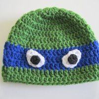 TUTORIAL – Crochet TMNT Hat | chucksforchancho