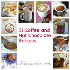 30 Hot Chocolate and Coffee Recipes