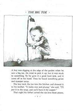 Art by Stephen Gammell. From Alvin Schwartz's _Scary Stories to Tell in the Dark_