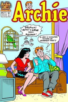 Archie and Veronica (said I would name my daughter Veronica)