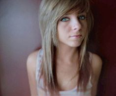 Choppy Layers <3 I want my hair cut like this