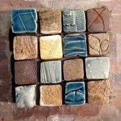 Sample panel, small tiles