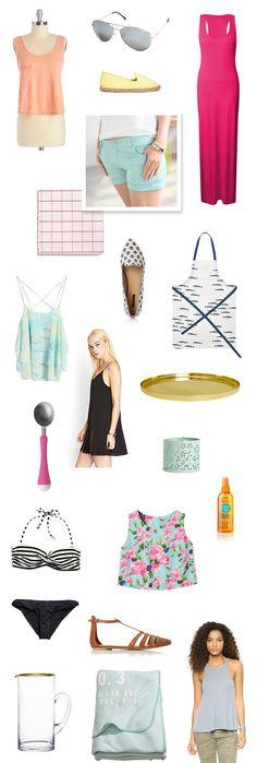 20 Summer Essentials Under $20   Read more: http://www.stylemepretty.com/living/2014/07/15/20-summer-essentials-under-20/