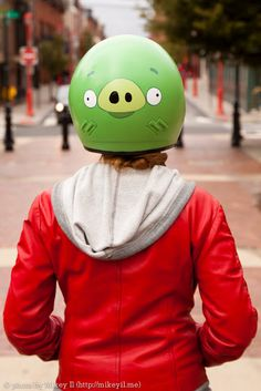 Angry Birds helmet