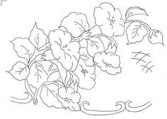 flores para pintar en tela - Pesquisa Google