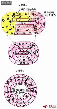 baby favor: hello kitty amigurumi key chains, free crochet patterns | make handmade, crochet, craft