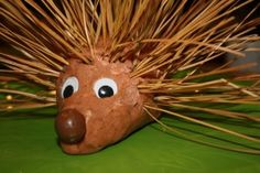 Playdough hedgehog activity and related stories