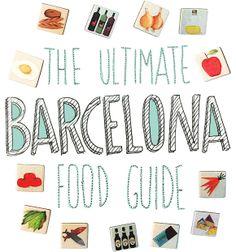 The Ultimate Barcelona Food Guide by ohomycake-helsinki
