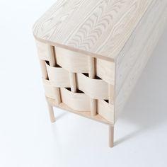 Pynt design festiv, bois design, waves, cabinet, cupboards, wave cupboard, furnitur, luka dahlén, weav cupboard