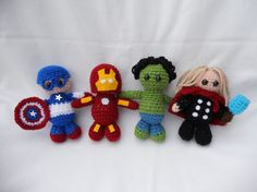 Avengers Amigurumi Pattern PDF by phoebegrassby on Etsy.