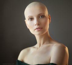 bald is the new black on Pinterest | Bald Women, Beauty Girls and ...