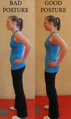 posture stretches - I seriously need to work on this.