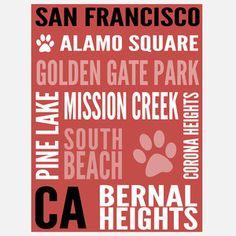San Francisco Dog Hot Spot Red