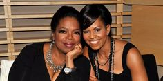 FIRST LADY MICHELLE OBAMA AND OPRAH WINFREY