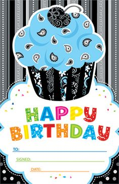 Happy Birthday Award new from CPT's BW Collection. Great to use in the classroom, or even to make birthday invitations!