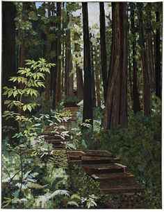 Forest Walk, Pat Durbin, AQS Winner, 2010