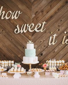 A dessert bar provided late-night snacks for wedding guests--including Irish car bomb cupcakes and s'more macaroons! Check out more of this garden-party wedding in San Francisco.