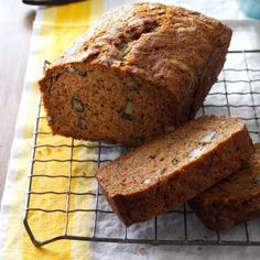 Apple Zucchini Bread Recipe from Taste of Home -- shared by Patti Dillingham of Scranton, Arkansas