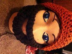 Instant mountain man beard!! - CROCHET  handmade gifts for men on Craftster.org
