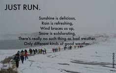 Running So much truth!