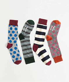 Socks are always a fun and easy gift. happy socks® x madewell trouser socks