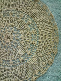 old fashioned doily