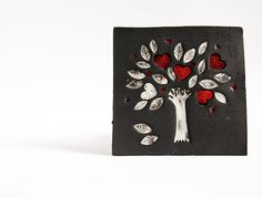 Wedding Gifts For Parents Ireland : ceramic wall hanging tile. wedding, engagement gift, gift for parents ...