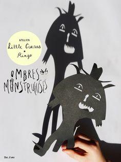 Paper light monsters via Ringo: Ringo | petit atelier de création pour les enfants