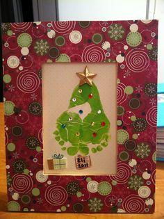 Baby Feet Christmas Tree