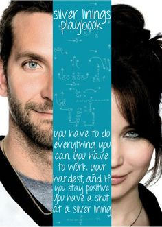 Silver Linings Playbook - enjoyed it so much that I watched it twice this weekend.
