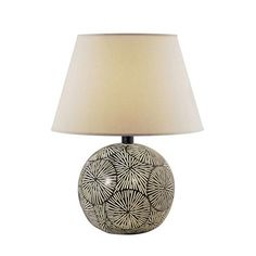 Anthony of California H6443AMO/123 Hydrocal Table Lamp