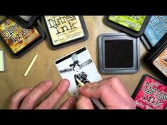 Learn the easiest way to tint photos using Ranger's Inkssentials Craft Nibs & Nib Holder along with Distress Ink pads in this video by Creative Director Tim Holtz.