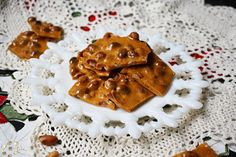 Crunchy Homemade Peanut Brittle is a deliciously easy homemade candy recipe that you won't be able to get enough of! It's perfect for the holidays (like Christmas), but tastes great all year round!