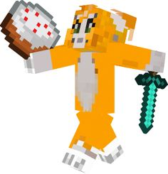 You have two hands use them for something like Stampylonghead  is doing