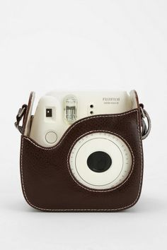 Urban Outfitters Leather Camera Case